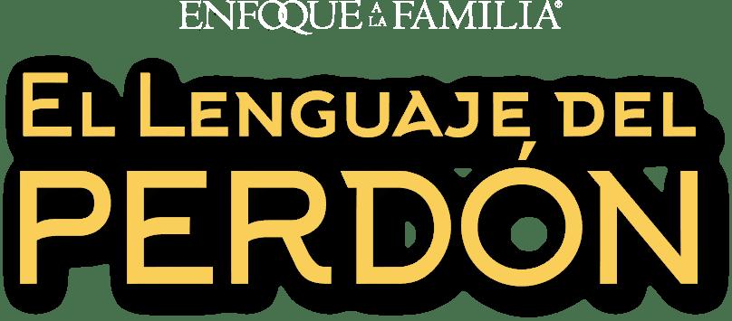 Logo balnco con amarillo del Curso El lenguaje del perdón